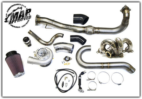 MAP COMPLETE T3 TURBO KIT (MITSUBISHI EVO 8/9) - JD Customs U.S.A
