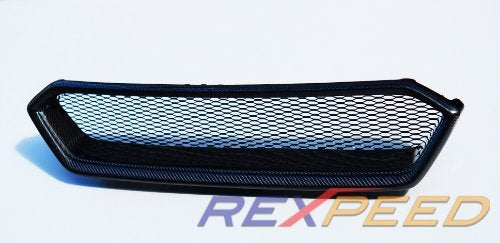 Rexpeed Dry Carbon Front Grille (18-20 WRX/STI)