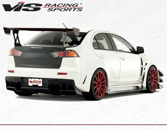 VIS VRS Wide Body Kit (Evo X)