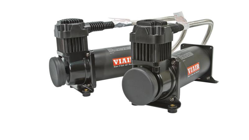 Air Lift Viair Compressor Dual Pack 444C-200PSI (23444B) (Universal/Black)