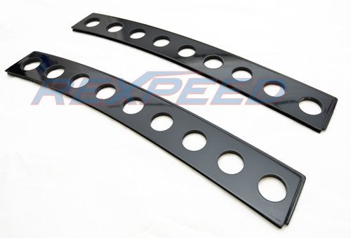 Rexpeed Black Fiberglass Window Vents (15-20 WRX/STI)