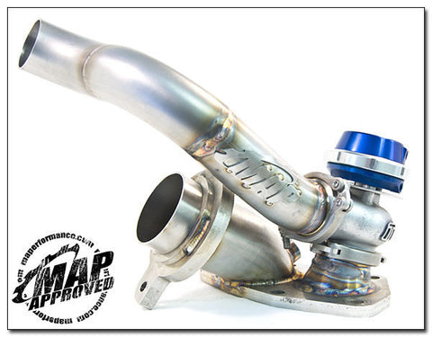 MAP COMP-GATE40 EXTERNAL WASTEGATE O2 HOUSING (MITSUBISHI EVO 8/9)