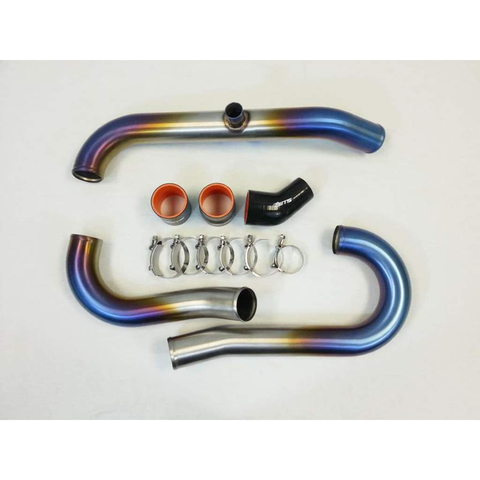 ETS Titanium Short Route Complete Intercooler Piping Kit (Evo 8/9) - JD Customs U.S.A