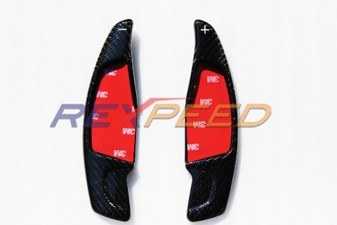 Rexpeed Dry Carbon Shift Paddle Extensions (MK5 Supra) - JD Customs U.S.A
