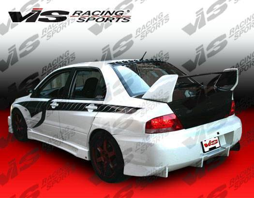 VIS Z Speed Rear Bumper (Evo 7/8/9)