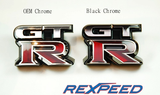 Rexpeed GT-R Black Chrome Badge