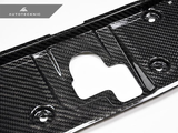 AUTOTECKNIC DRY CARBON COOLING PLATE - NISSAN R35 GT-R - JD Customs U.S.A