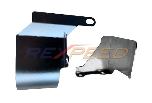 Rexpeed Drive Shaft Heat Shield Front and Rear (05-20 WRX/STI)