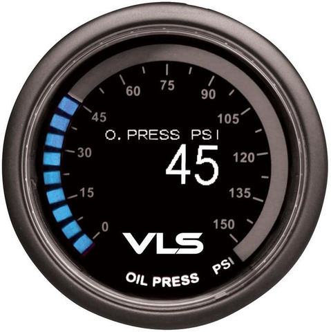 REVEL VLS OLED OIL PRESSURE GAUGE | (1TR1AA004R) - JD Customs U.S.A