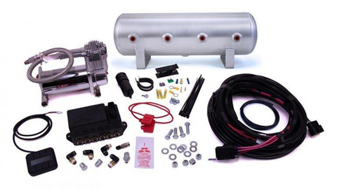 "Air Lift Performance AutoPilot V2 Digital Air Management 1/4"" Air Line w/ Tank (27674) (Universal) - JD Customs U.S.A"