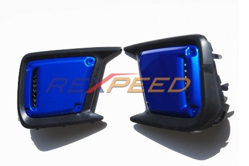 Rexpeed Painted Fog Light Cover (18-20 WRX/STI)
