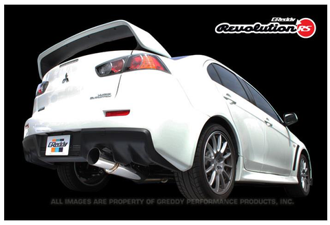 Greddy Revolution RS Exhaust (Evo X) - JD Customs U.S.A
