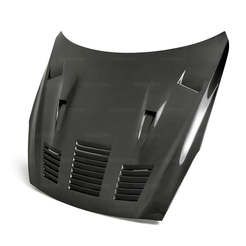 Seibon GTII-Style Carbon Fiber Hood (17-20 GT-R) - JD Customs U.S.A