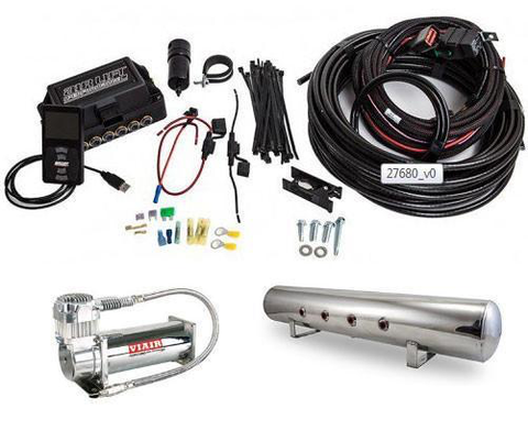 Air Lift Front 3P Pressure Only Air Suspension Kit (27680) (Universal) - JD Customs U.S.A