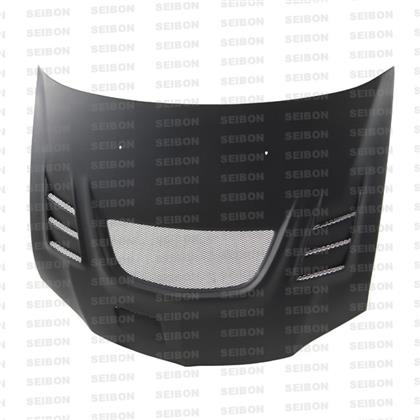 Seibon CW-Style Dry Carbon Fiber Hood (Evo 8/9) - JD Customs U.S.A