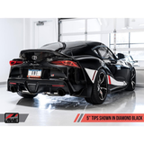 AWE Track Edition Cat-Back Exhaust System (MK5 Supra) - JD Customs U.S.A