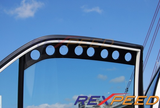 Rexpeed CT9A Carbon Fiber Window Vents (Evo 7/8/9) - JD Customs U.S.A