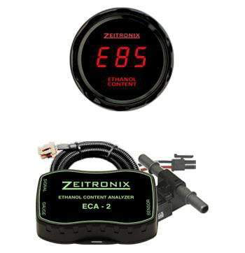 Zeitronix ECA-2 Ethanol Content Analyzer Kit w/ E% Gauge (Universal) - JD Customs U.S.A