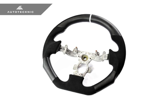 AUTOTECKNIC MATTE CARBON STEERING WHEEL - NISSAN R35 GT-R 2009-2017 - JD Customs U.S.A