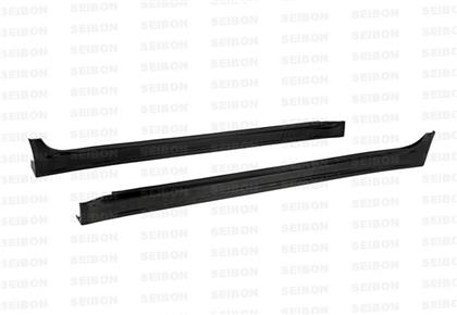 Seibon VR-Style Carbon Fiber Side Skirts (Evo X) - JD Customs U.S.A