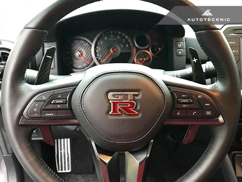 AutoTecknic Painted Competition Paddle Shifters (17+ GT-R) - JD Customs U.S.A