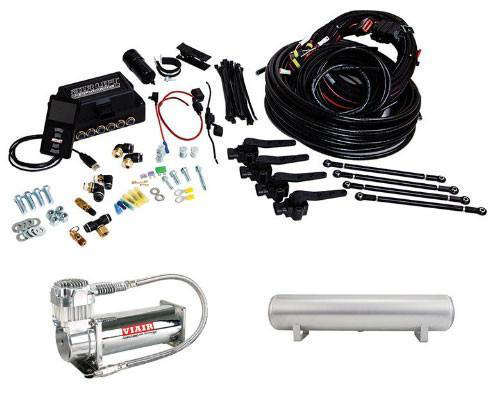 Air Lift Front 3H Height + Pressure Air Suspension Kit (27691) (Universal) - JD Customs U.S.A