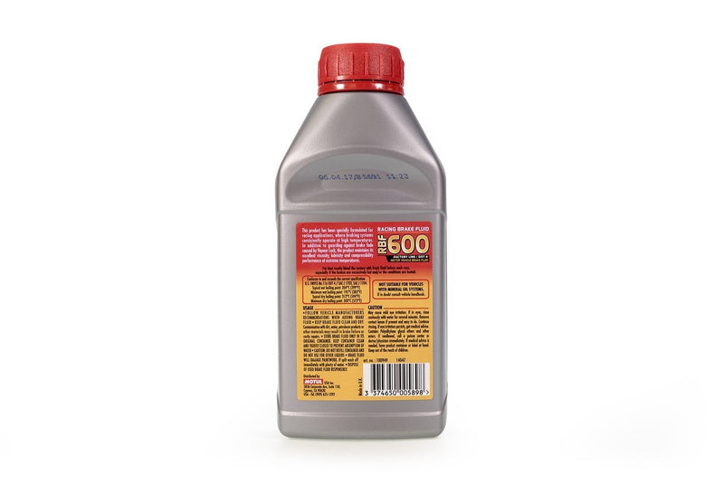 Motul RBF600 DOT 4 Brake Fluid | 0.5L