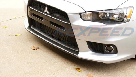 Rexpeed Type-F Carbon Splitter (Evo X)