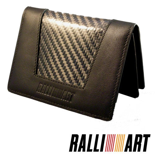 Ralliart Carbon Fiber Leather Wallet
