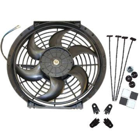 ETS Slim Radiator Fan (Evo 4-9) - JD Customs U.S.A