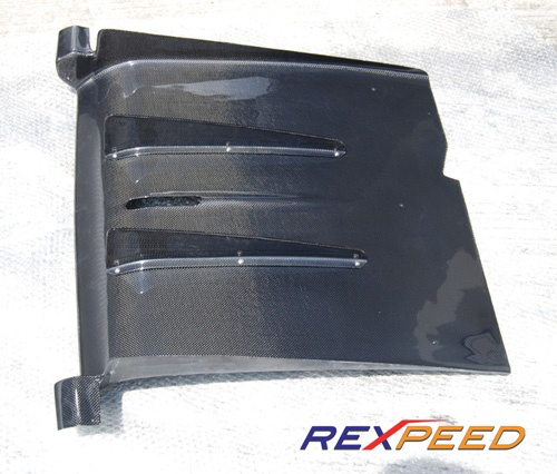 Rexpeed K-Style Carbon Fiber Diffuser (Evo 7/8) - JD Customs U.S.A