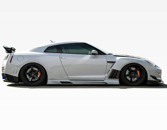 VIS VRS Full Kit with Wing (09-15 GT-R)