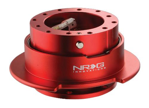NRG Gen 2.5 Red Steering Wheel Quick Release Kit - JD Customs U.S.A