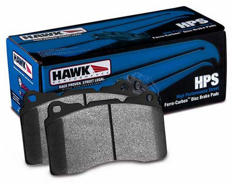 HAWK HPS BRAKE PADS (MITSUBISHI EVO X) - JD Customs U.S.A