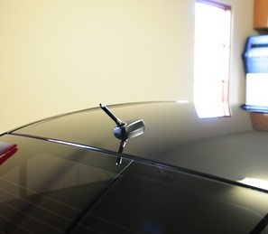 Rexpeed Carbon Fiber Antenna (Evo X) - JD Customs U.S.A