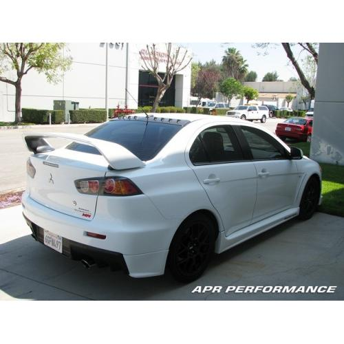 APR Vortex Generator MR and Base GSR (08+ Evo X) - JD Customs U.S.A
