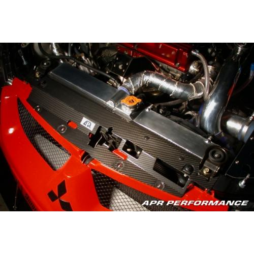 APR Carbon Fiber Radiator Cooling Plate (Evo 8/9) - JD Customs U.S.A