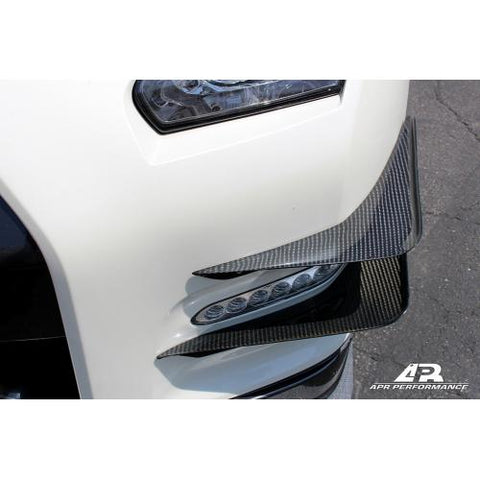 APR Nissan GTR R35 Front Bumper Canards 2012-16 (AB-603512) - JD Customs U.S.A
