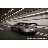 "APR Nissan GTR R35 GTC-500 74"" Adjustable Wing 2008-Up (AS-107435) - JD Customs U.S.A"