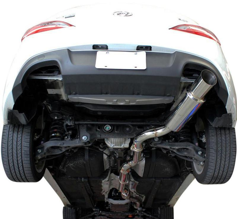 ISR Performance GT Single Cat Back Exhaust  (Genesis Coupe 09+)