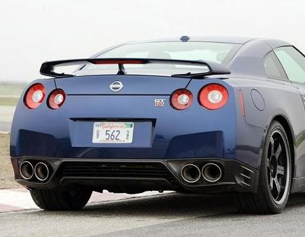 JDC OEM Carbon Fiber Rear Lip (2012-2015 Nissan GT-R) - JD Customs U.S.A