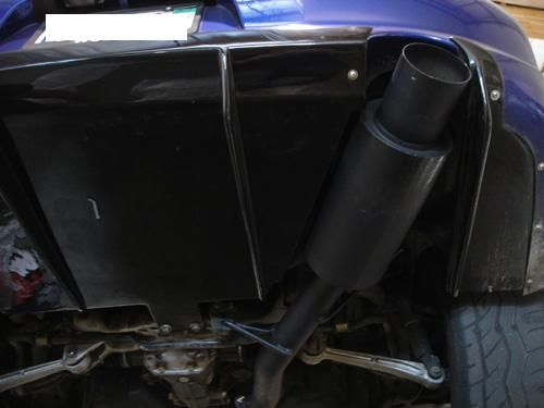 Megan Racing Cat Back Exhaust (Evo 8/9)