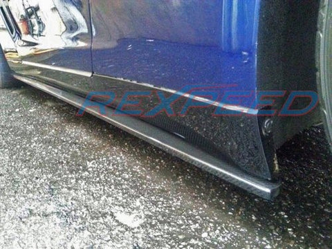 Rexpeed GTR R35 Carbon Side Skirt Extensions