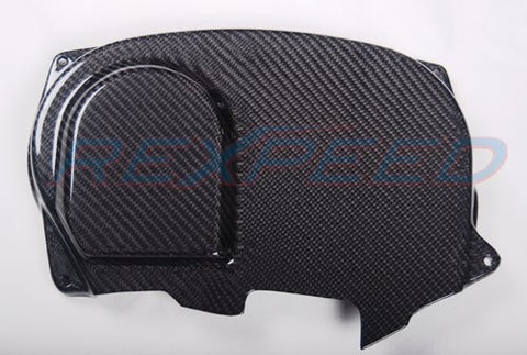 Rexpeed Carbon Cam Pulley Cover Evo 7/8/9