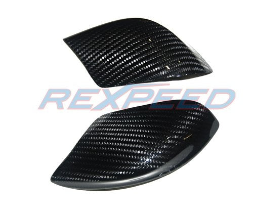 Rexpeed GTR R35 Dry Carbon Mirror Cover - JD Customs U.S.A