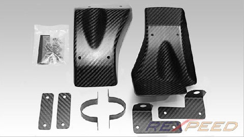 Rexpeed Dry Carbon Fiber Brake Cooling Guides (R35 GT-R) - JD Customs U.S.A