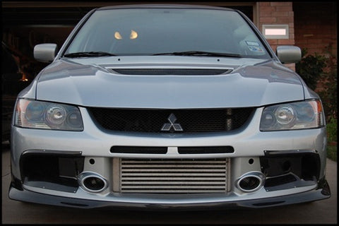 Rexpeed Evo 9 Carbon Fiber Bumper Ducts