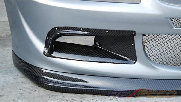 Rexpeed Carbon Fiber Air Ducts (Evo 8) - JD Customs U.S.A