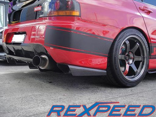 Rexpeed JDM VA-Style Diffuser (Evo 9) - JD Customs U.S.A