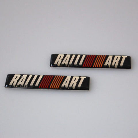 Ralliart Badges for Mitsubishi Lancer Evolution 4/5/6/7/8/9 - JD Customs U.S.A